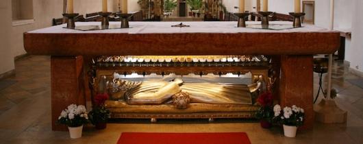 Reliquienschrein heiliger konrad von parzham