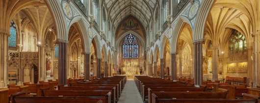 Immaculate conception church, farm street, london, uk - diliff