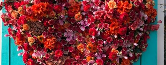 Flowers of heart