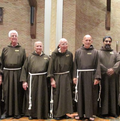 Jubilarians and First Profession
