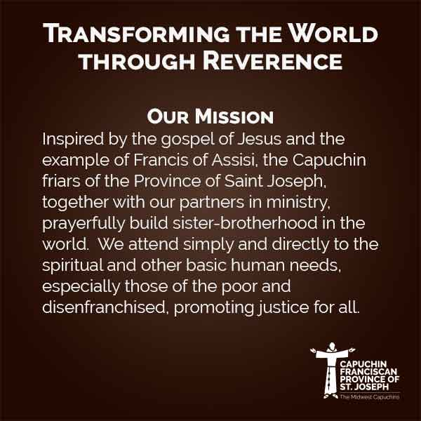 Capuchin Mission Statement